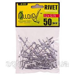 Alloid. Заклепка алюминиевая 3,2х12,7мм, 50шт (RA-32127)