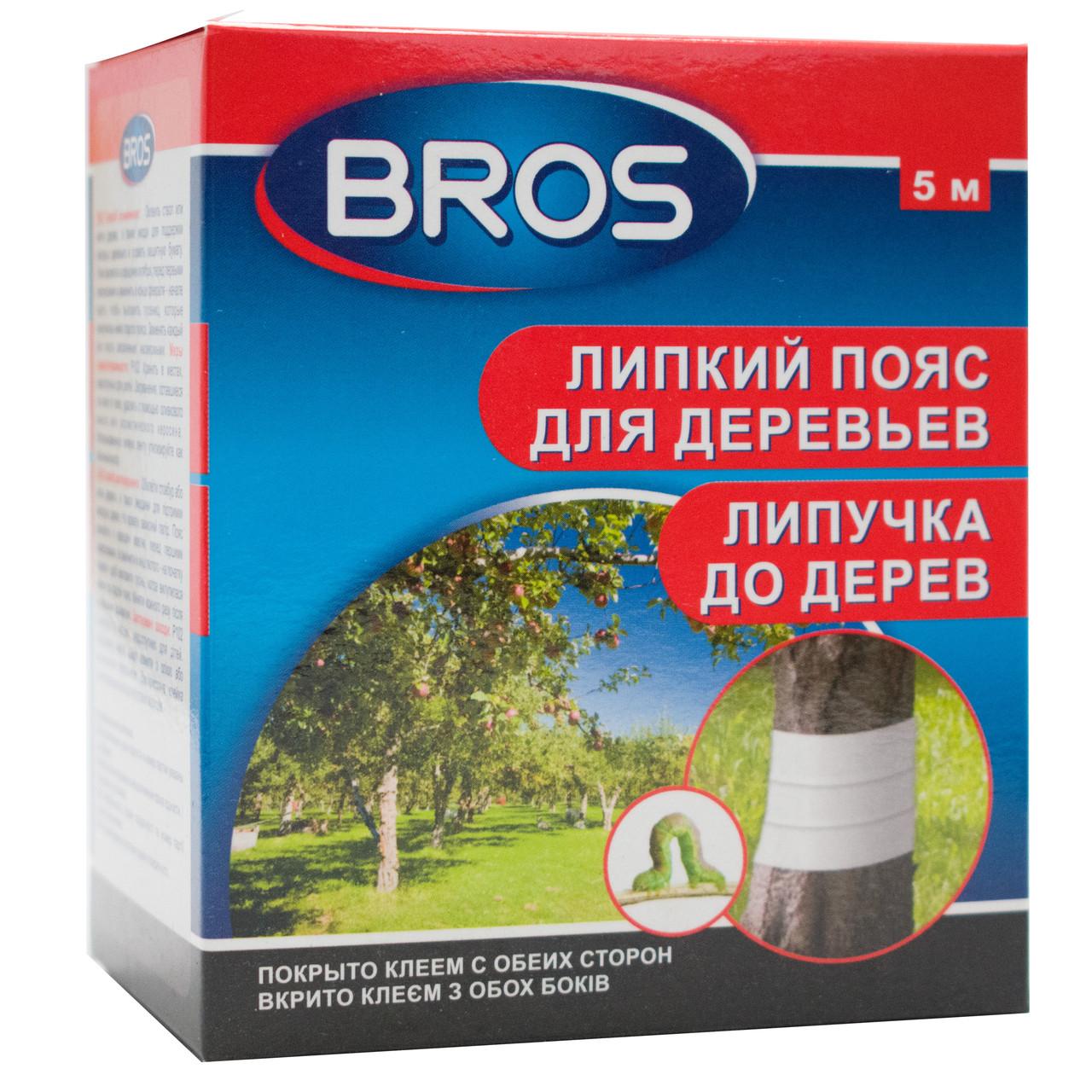 Клейкий пояс для деревьев Bros 5 м