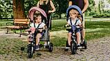 Детский велосипед Lionelo TRIS CANDY ROSE/GREY, фото 7