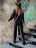 Костюм женский кофта + штаны чёрный, бежевый, кэмел 42-44,46-48, фото 7