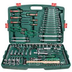 """HANS. Набор инструмента  1/4""""DR4-14мм и 1/2""""DR10-32 мм,109 предм. (TK-109)"""