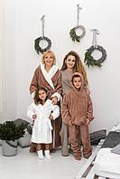 Уютный махровый халат с носочками идеальный подарок для любимых