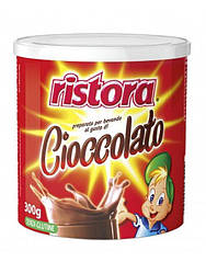 Шоколад Детский Ristora Preparato Per Cioccolato 300 г. Италия в банке