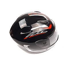 Шлем детский интеграл (mod: F2-801) (size XS, BLACK/RED) ST, фото 3