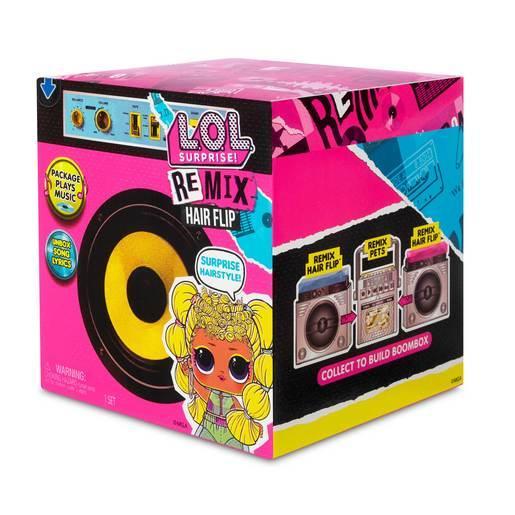 Лялька Лол Музичний сюрприз ремікс MGA L. O. L. Surprise! Remix Hair Flip Dolls