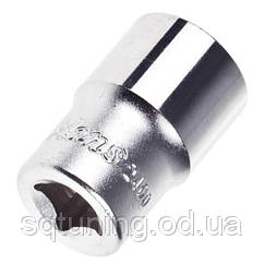 "HANS. Торцевая головка 1/4"" 6-гр. 12 мм   (2400M12) (2400М12)"
