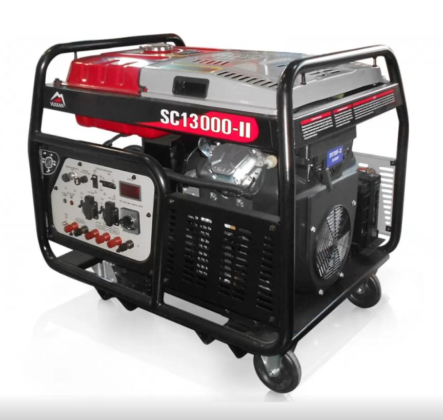 Генератор бензиновый 13кВт, Vulkan SC13000-II
