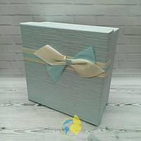 Коробка квадрат L 19 x 19 x 9,5 см