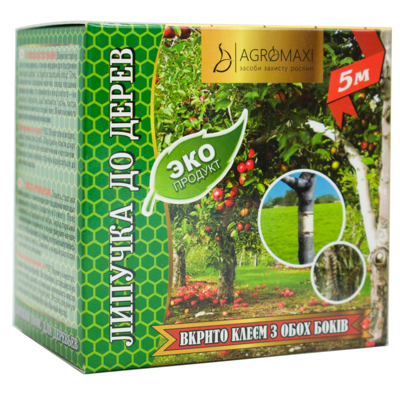 Клейкий пояс для деревьев Эко 5 м Agromaxi
