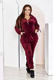 Стильный женский и комфортный прогулочный костюм, разные цвета р.48-50,52-54,56-58,60-62,64-66,68-70 Код 3395Ф, фото 2