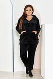 Стильный женский и комфортный прогулочный костюм, разные цвета р.48-50,52-54,56-58,60-62,64-66,68-70 Код 3395Ф, фото 8
