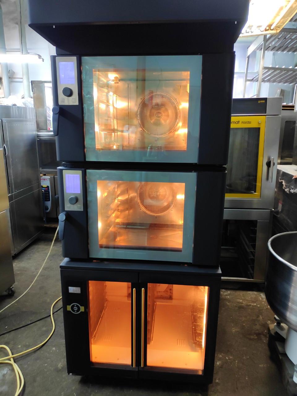 Печь Wiesheu  -стойка комплект конвекционная 5+5+расстойка оригинальная
