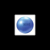 Гимнастический мяч ABS GYM BALL, 75 см, цвет синий Qmed КМ-16 Польша
