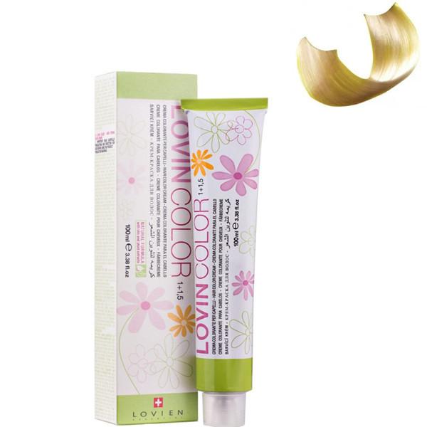 Стойкая крем-краска для волос Lovien Essential Lovin Color  №10.32 Супер светло-русый с золотисто-фиолетовым о