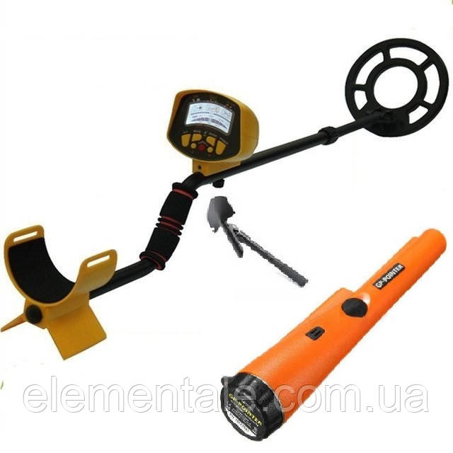 Металлоискатель Discovery Tracker MD9020C + лопата + gp pointer