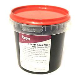 Крем для придания блеска Kaps Cream Brillance 500 ml, черный