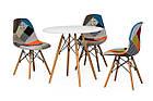 Стол обеденный круглый не раскладной  МДФ TM-35 Vetro Mebel™, фото 7