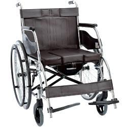 Складная инвалидная коляска с санитарным оснащением, OSD-H003B