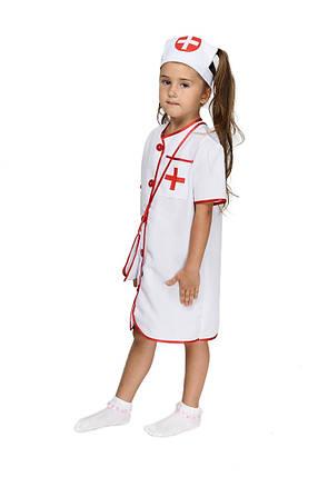 """Детский карнавальный костюм """"Медсестра"""" для девочки, фото 2"""