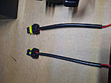 Доп.фары врезные 4д.100мм с СТГ.Свет белый и желтый., фото 5