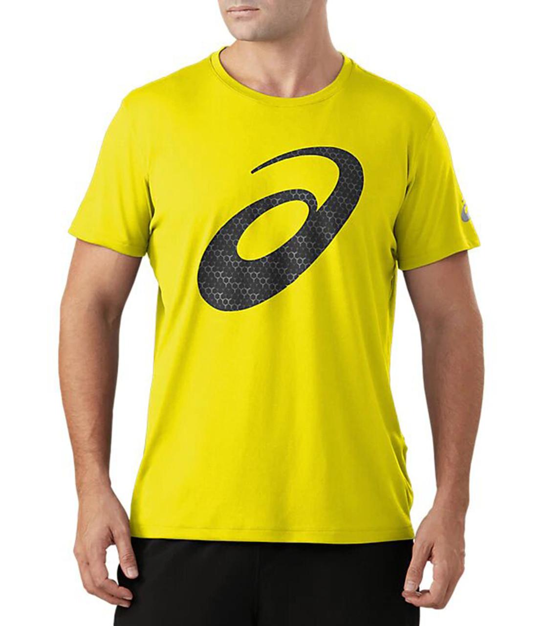 Футболка Asics Silver Graphic Ss Top 3 2011A328 750