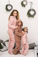 Теплая уютная махровая пижама с носочками хороший подарок для самых любимых