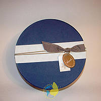 Коробка круглая XL 28 х 18 см