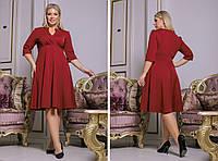 Женское стильное платье больших размеров, фото 1