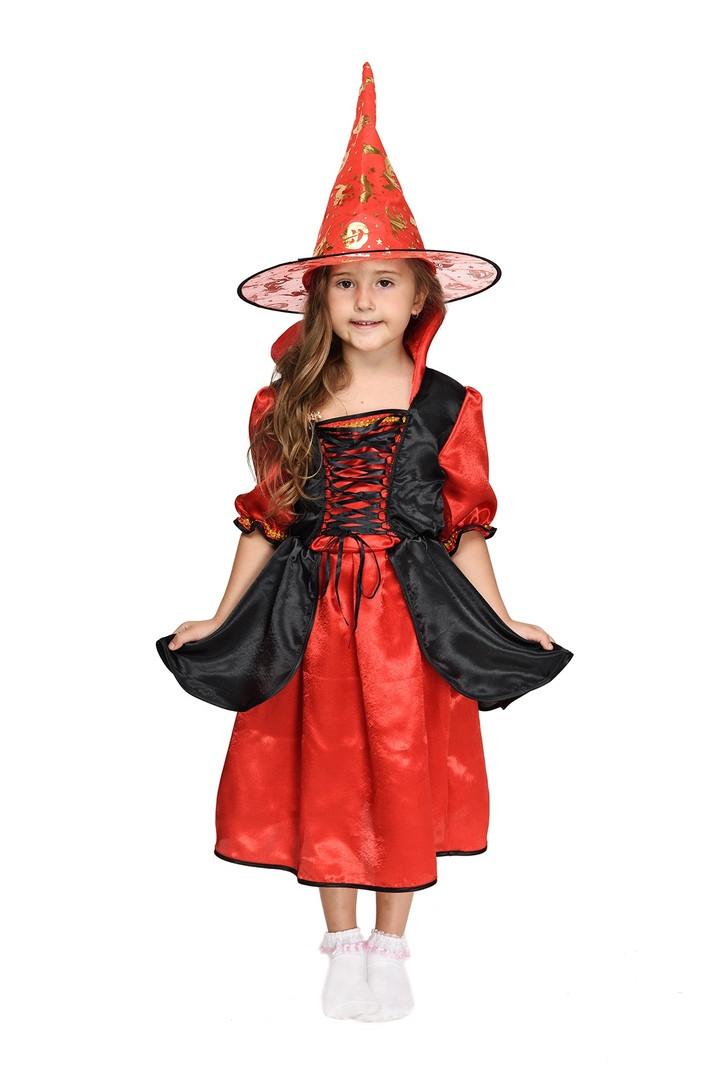 """Детский карнавальный костюм """"Волшебница"""" для девочки (3 цвета)"""