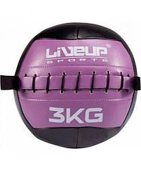 Мяч для кроссфита набивной 3 кг LiveUp LS3073-3