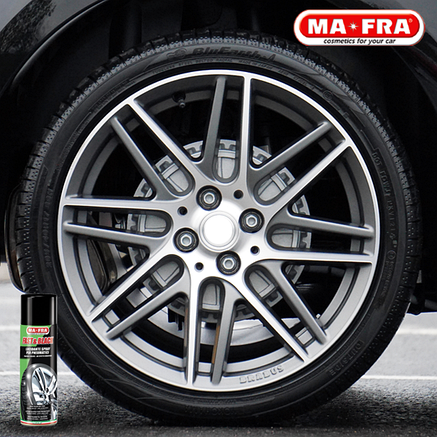 Mafra Fast & Black спрей для чернения и защиты шин, фото 2