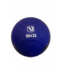 Медбол твердый 9 кг MEDICINE BALL LiveUp LS3006F-9