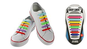 Силиконовые шнурки для обуви Easy Lace