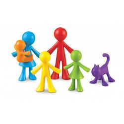"""Набор фигурок для сортировки """"Семья"""" (6 шт) Learning Resources"""