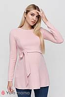 Теплая туника для беременных и кормящих FAITH TN-40.061, розовая