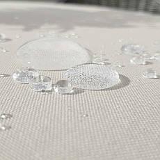 Тканина для Скатертин Айворі з просоченням Тефлон-180 Однотонна Туреччина 180см ширина, фото 3