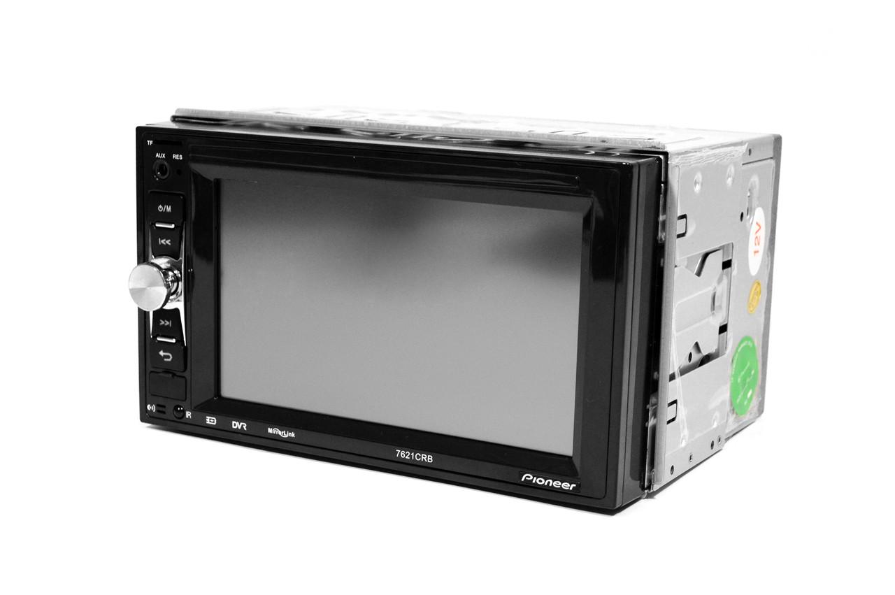 Автомагнитола 2Din Pioneer 7621CRB 1026x600px, USB,SD, Video + ПУЛЬТ НА РУЛЬ + ПОДАРОК!
