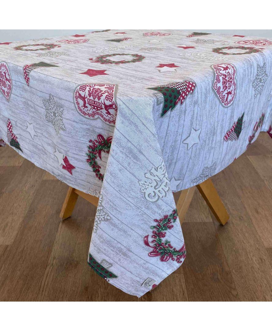 Скатерть на стол Merry Christmas 120*136 см