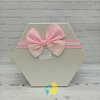 Коробка шестигранная S 8 х 7см