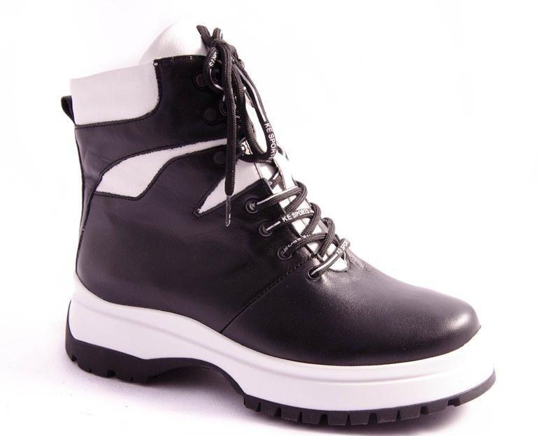 Ботинки женские черные Vesna 2082