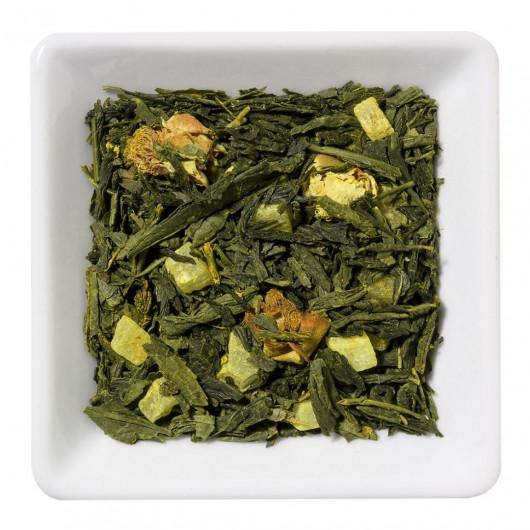 Китайский  зеленый Чай  Золота куркума крупно листовой Tea Star 100 гр