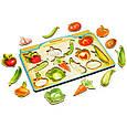 Сортер - пазл: Овощи снаружи и внутри, фото 4