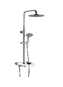 Смеситель для ванны со стационарным душем GLOBUS DS0010 (Германия)