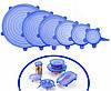 Силиконовые крышки набор силиконовых крышек для посуды