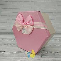 Коробка шестигранная L 11 х 10см