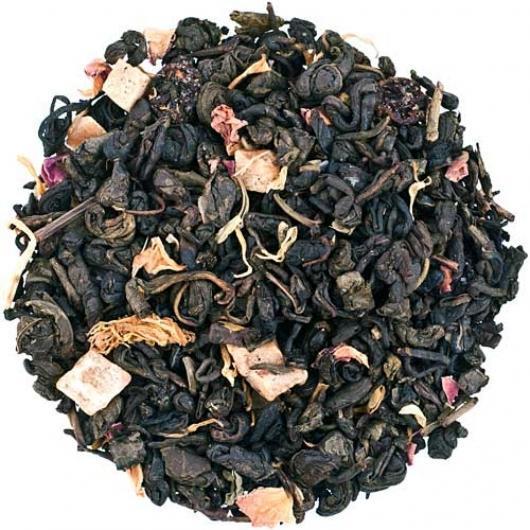 Чай зеленый Ароматизированый Ночь Клеопатры крупно листовой Tea Star 50 гр