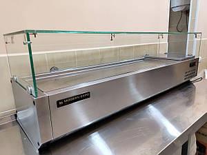 Вітрина холодильна Modern Expo ONS VXCN 14 (пряме скло 6xGN 1/3)
