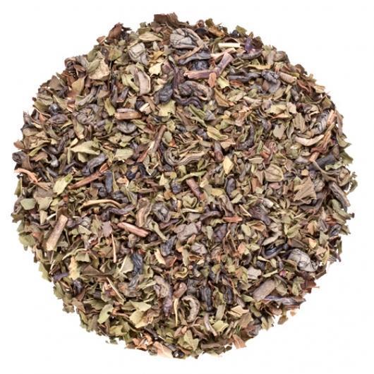 Чай зеленый Марроканська мята крупно листовой Tea Star  50 гр