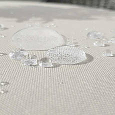Ткань для Скатертей Золото-Бежевая с пропиткой Тефлон-180 Однотонная Турция ширина 180см, фото 3