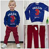 Бордовые брюки Armani для мальчика, фото 2